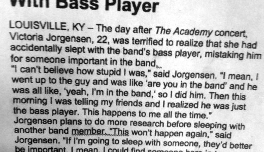 Just the Bass Player